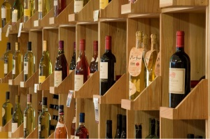 WIne Collection in a Cellar