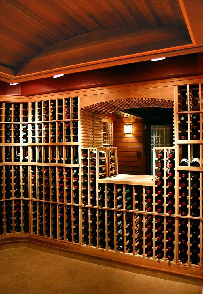 Wine Cellar Construction