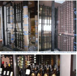 Commercial Wine Cellar Construction Los Angeles Irvine CA