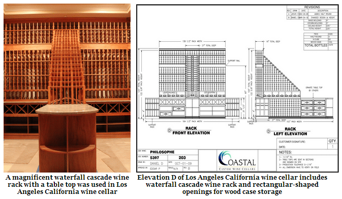 Wine Cellar Design - Custom Wine Cellars Los Angeles California