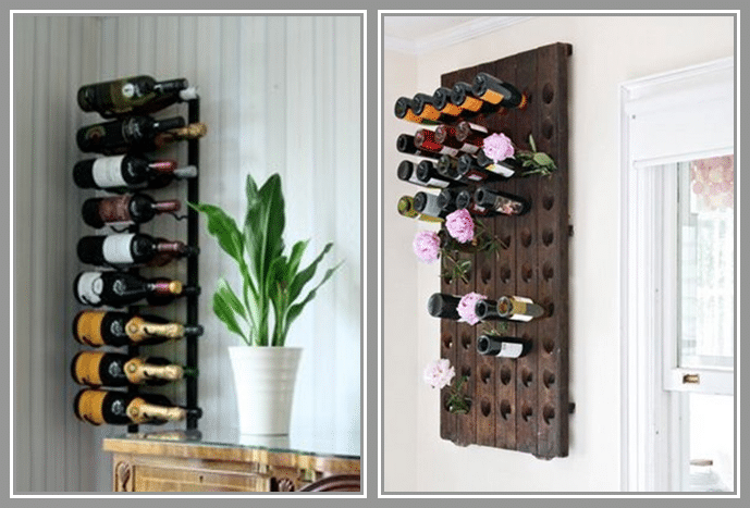 advantages and of wall mounted wine racks