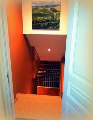 Custom Wine Cellar Los Angeles California