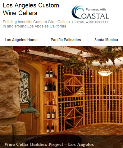 Custom Wine Racks Los Angeles California