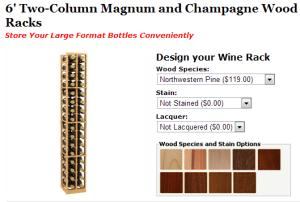 Magnum Wine Racks from Coastal Custom Wine Racks