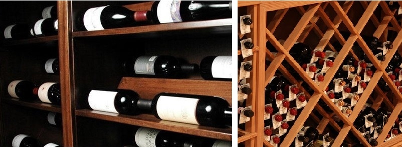 Different kinds of wine racking systems in Los Angeles, California