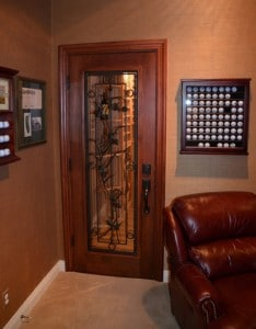 Completed Custom Wine Cellars California Falcon Ridge