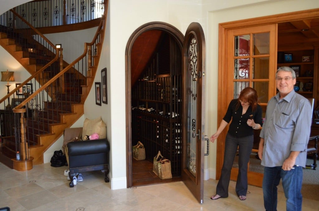 Residential Wine Rooms California