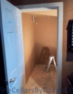Small Closet - Before Photo
