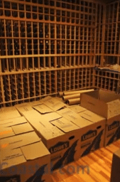 Wine Storage Room for the Client's Wine Collection