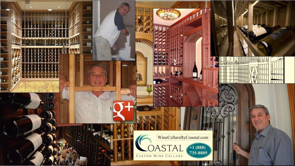 Watch Coastal's wine cellar construction project videos by clicking here!