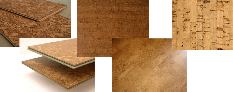 Custom Wine Cellar Flooring Material Natural Cork Plank