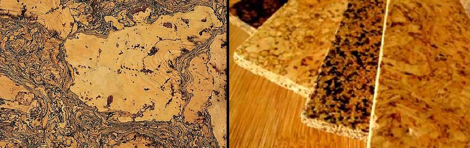 Natural Cork Planks California