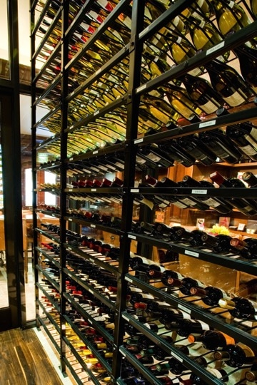 Commercial Wine Racks in Los Angeles