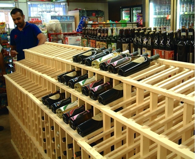 Wine Store Racking in Los Angeles Countyj