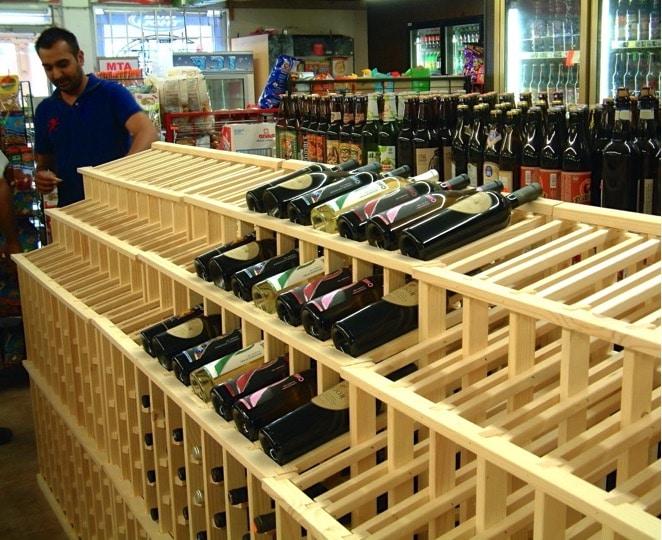 Wine Store Racking in Los Angeles Countyj