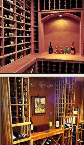 Coastal Custom Wine Racks