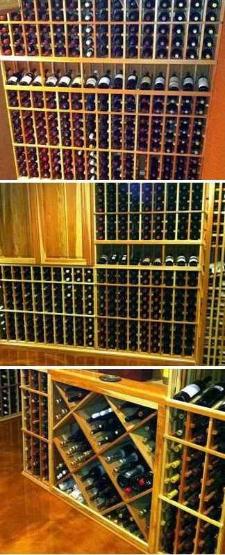 Wine Rack Designs by Coastal