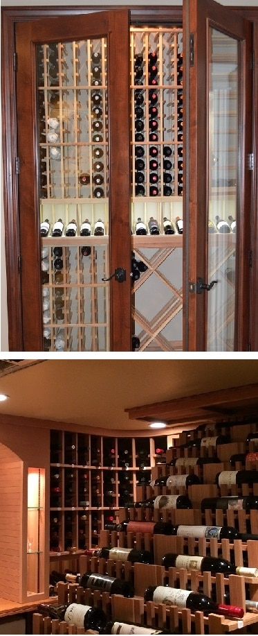 Wine cellars are the best places to store wines.