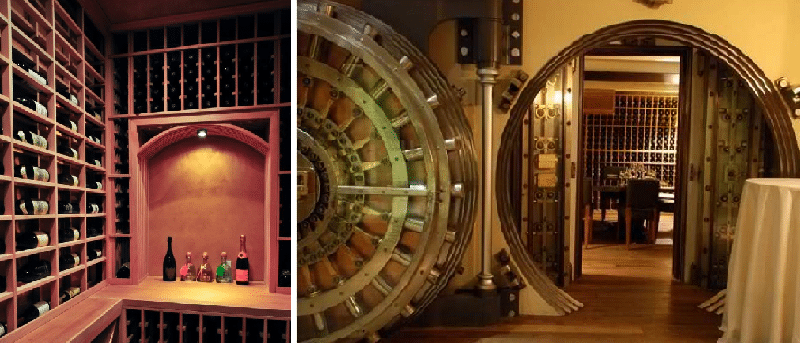 Custom Wine Cellars in California