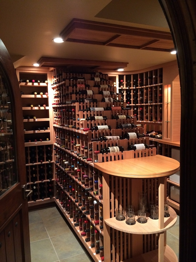 Bel Air Los Angeles Custom Wine Cellar Design