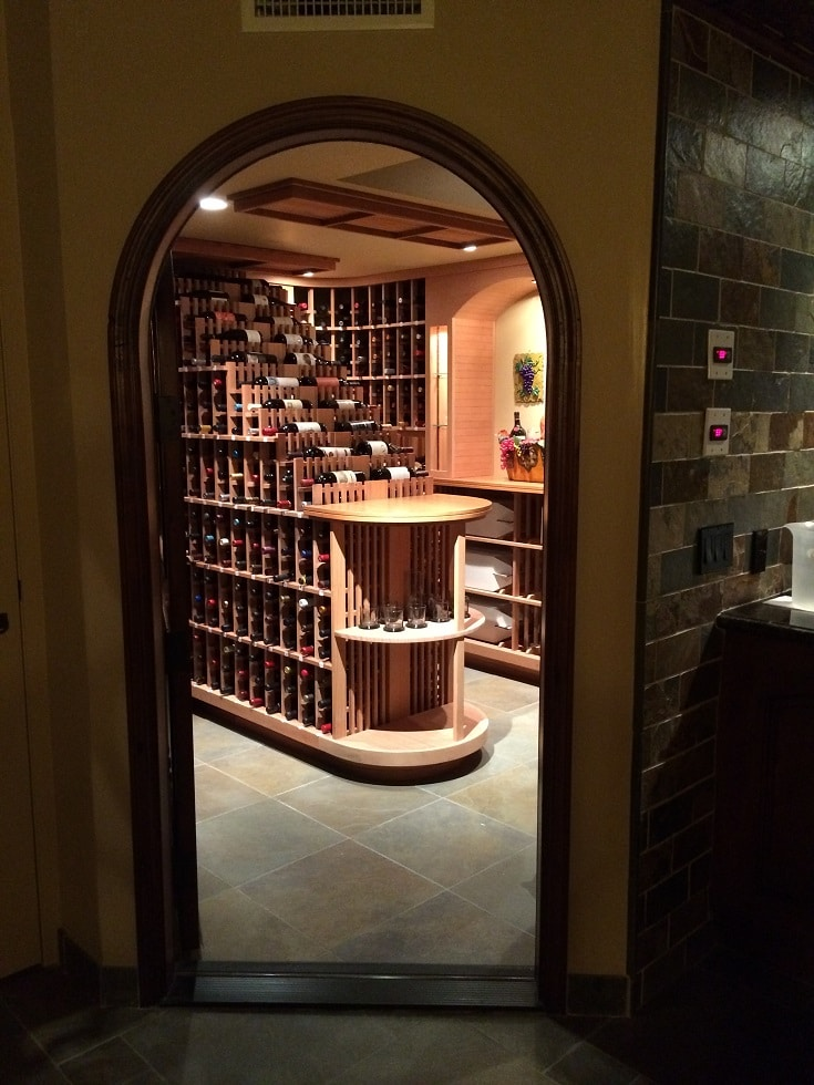 Bel Air Los Angeles Residential Wine Room