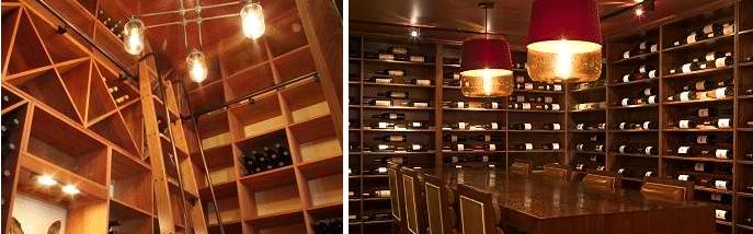 Wine cellar lighting ca