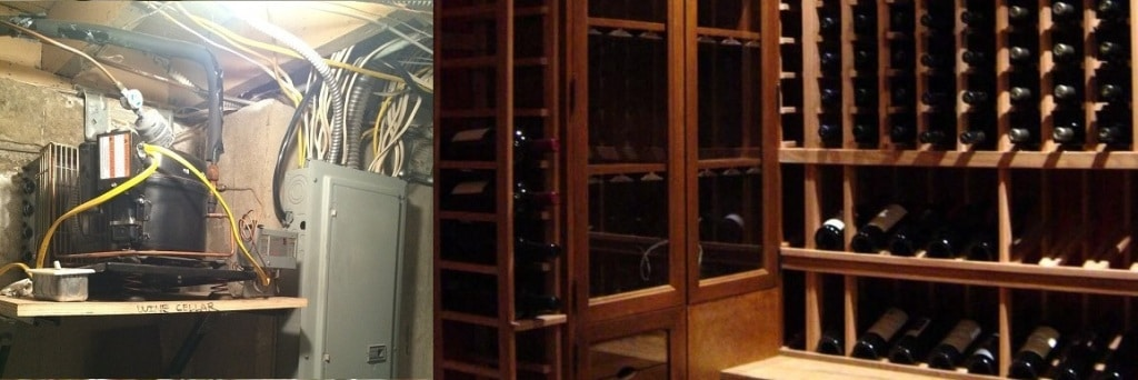 Wine Cellar Refrigeration System CA