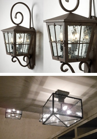 Stunning Lighting Options for Wine Cellars by Iron Wine Cellars San Diego, California