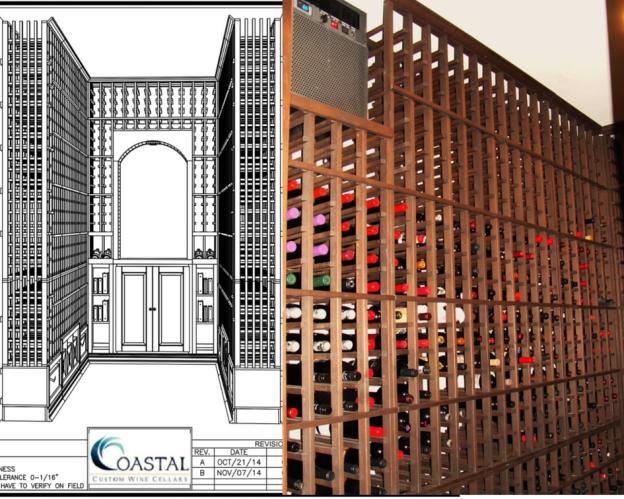 Los Angeles Custom Wine Cellars for Homes