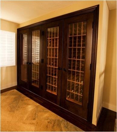 Residential Wine Cabinet Doors