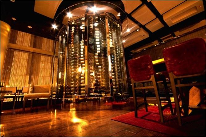 Commercial Restaurant Wine Display Los Angeles