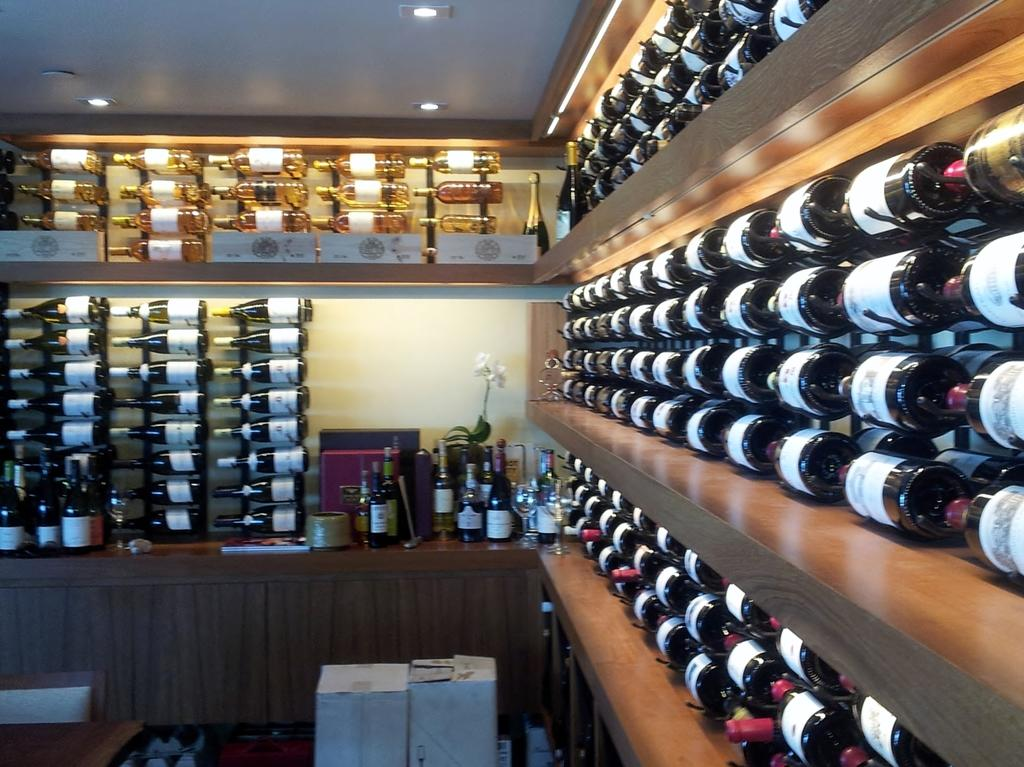 Learn about a commercial wine cellar project!
