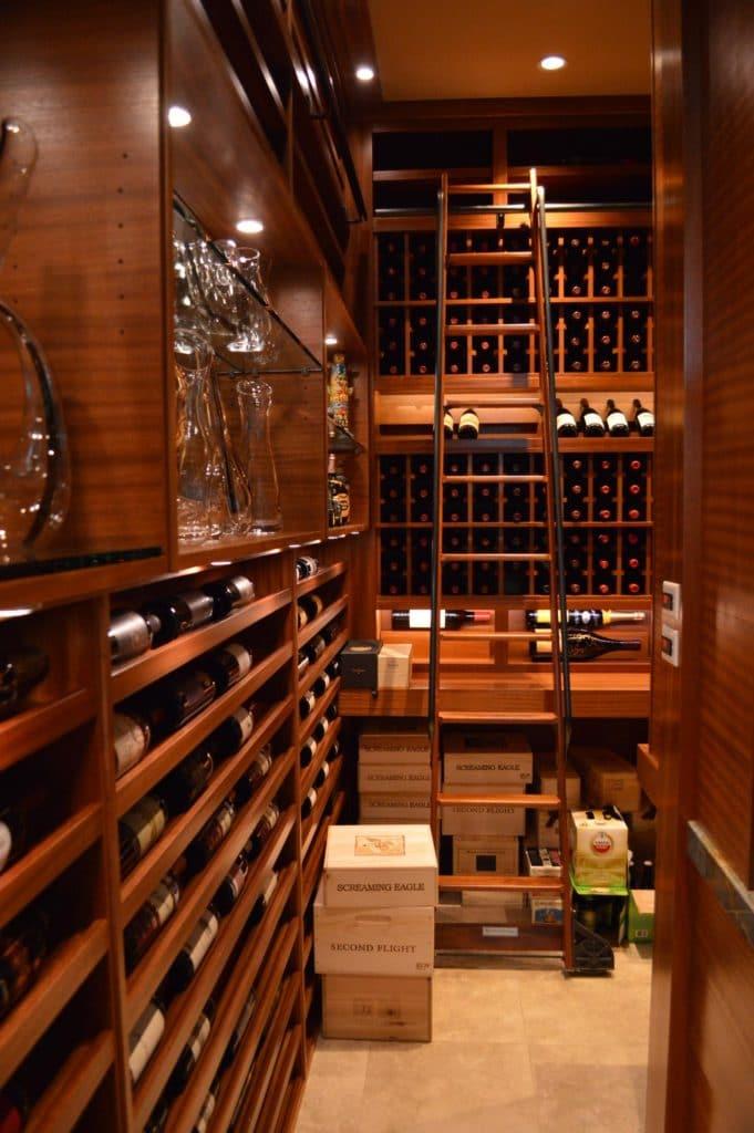 Hook Ladder Wine Cellar Project Los Angeles CA
