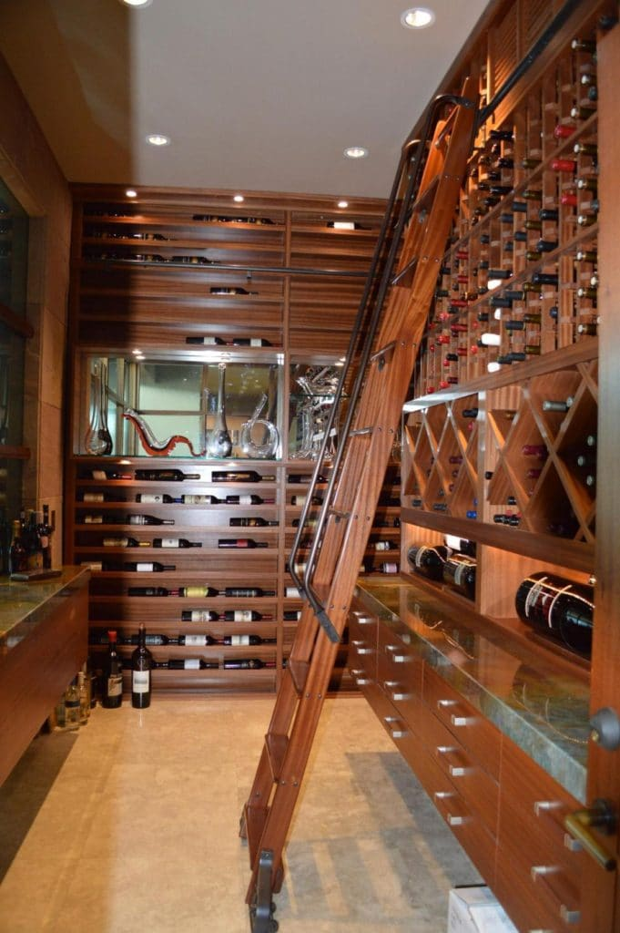 Los Angeles California Wine Cellar Racks