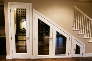 Click to get your FREE wine cellar design.