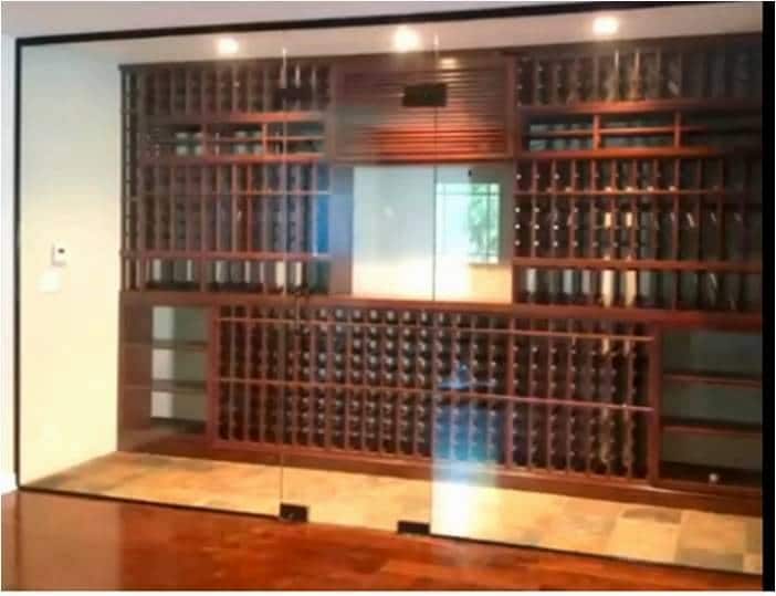 Custom Wine Rack Design Los Angeles Project