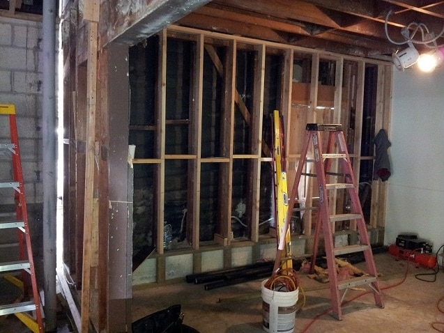 Los Angeles Home Wine Cellar Construction