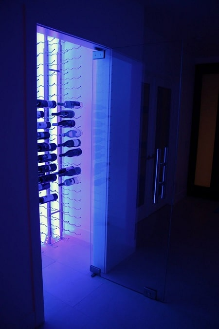 Los Angeles Residential Wine Cellar Installation Project