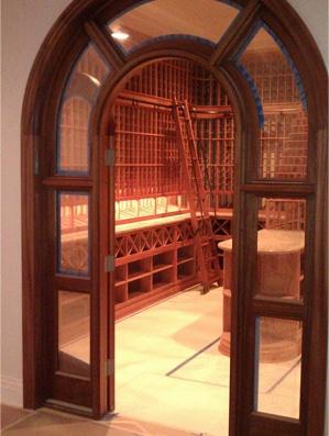 Wine Cellar Refrigeration Unit Installation Project Los Angeles