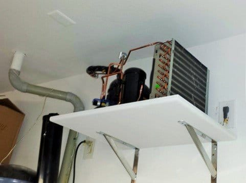 Wine Cellar Cooling System Installed a Master Builder in Los Angeles