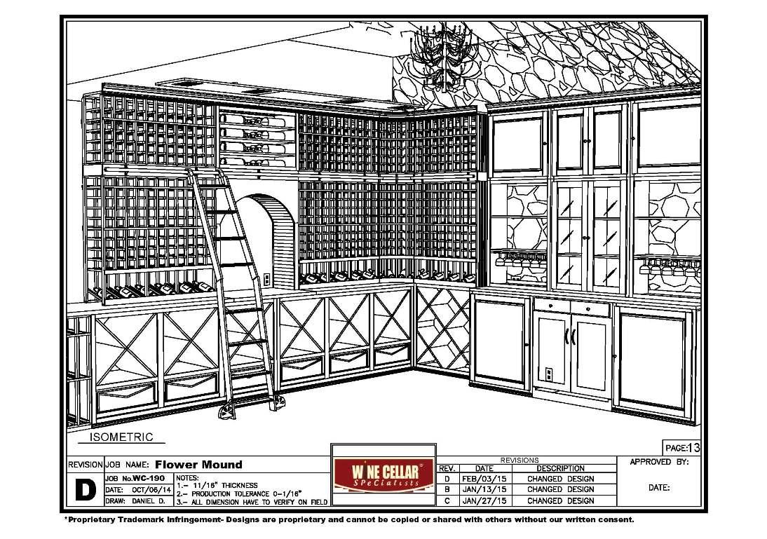 Los Angeles Home Wine Cellar Conversion Project