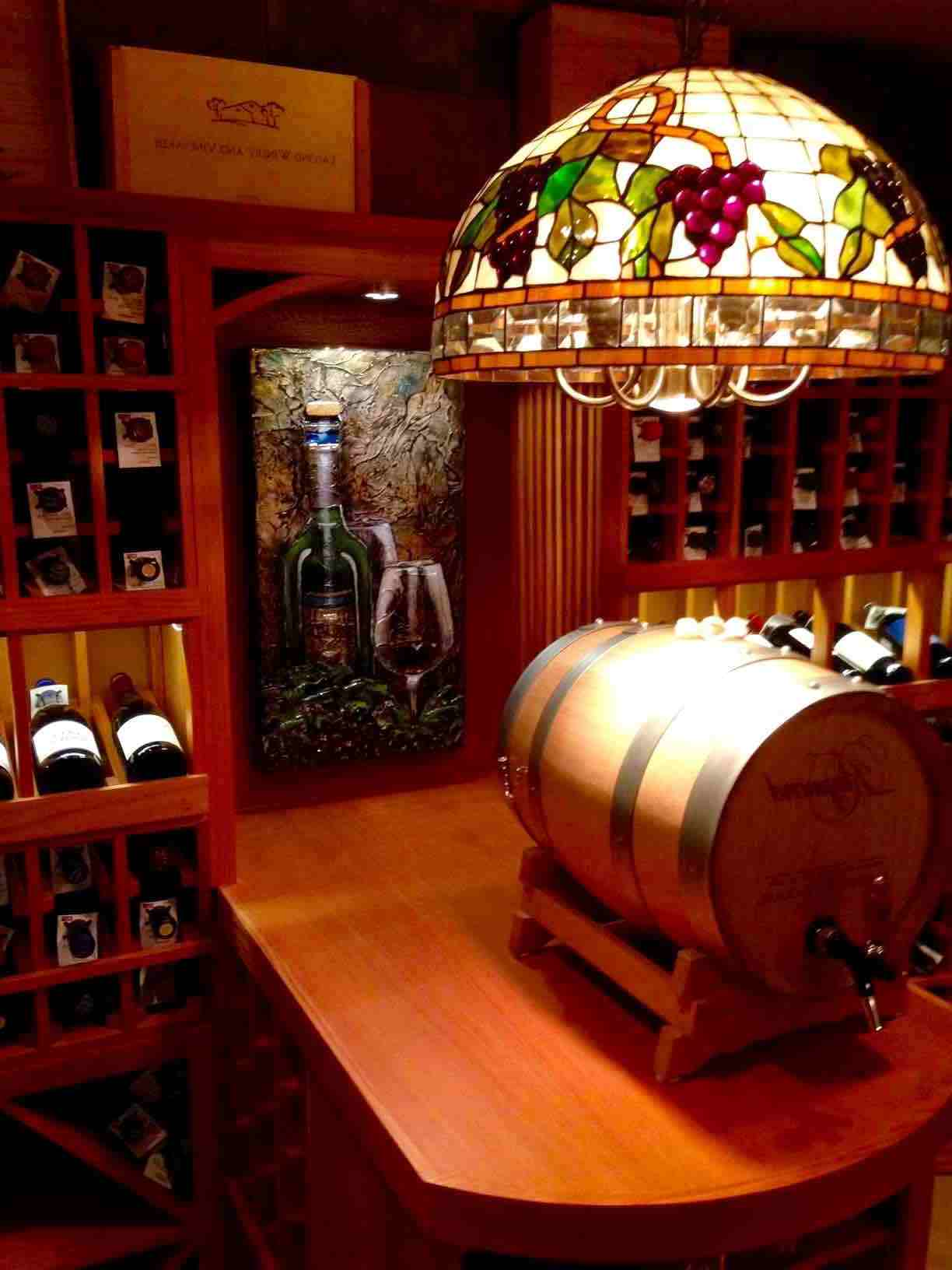 Basement Wine Cellar Designed and Built by Los Angeles Builders