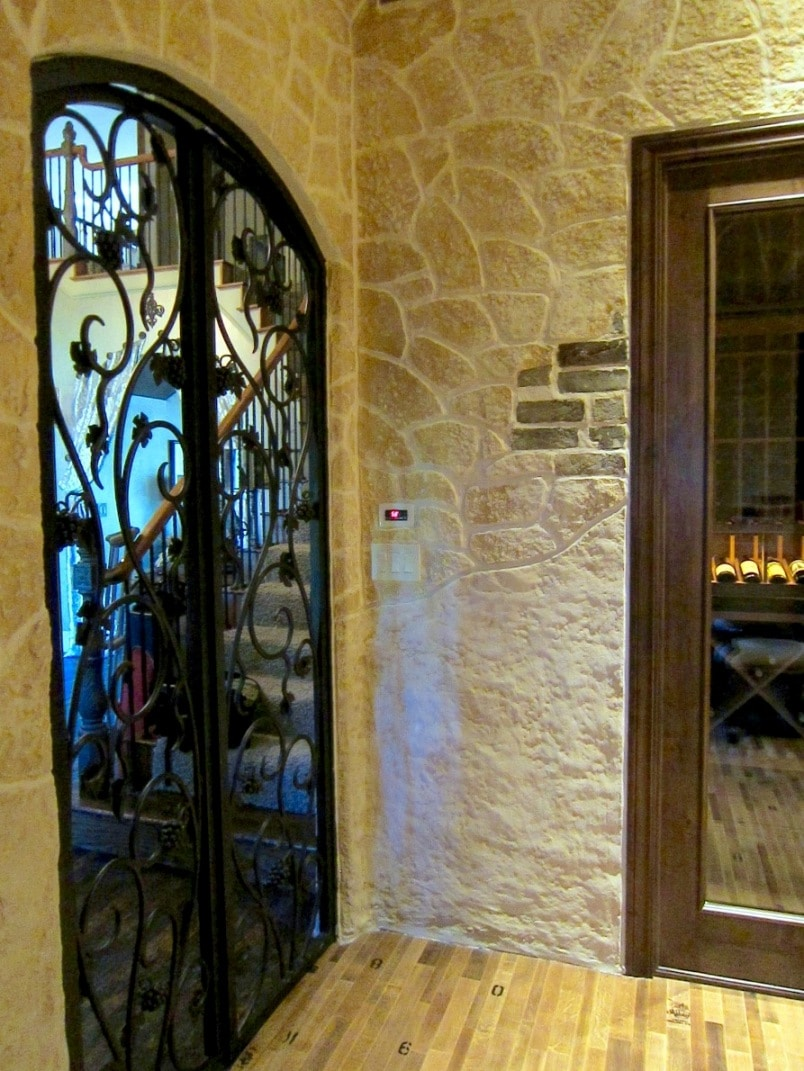 Custom Wine Cellar Doors Manufactured by Los Angeles Experts