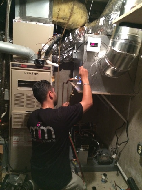 Replacing the Old Wine Cellar Cooling System by Los Angeles Experts