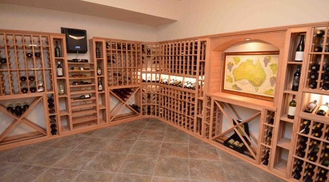 & How to Build a Wine Cellar for Los Angeles Residence