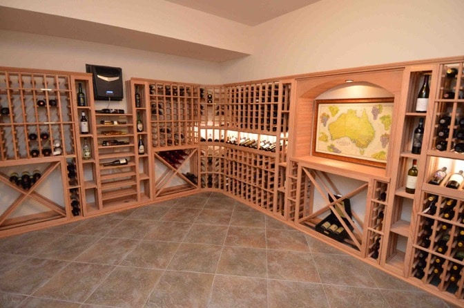 Residential Wine Cellar Installation by Los Angeles Builders