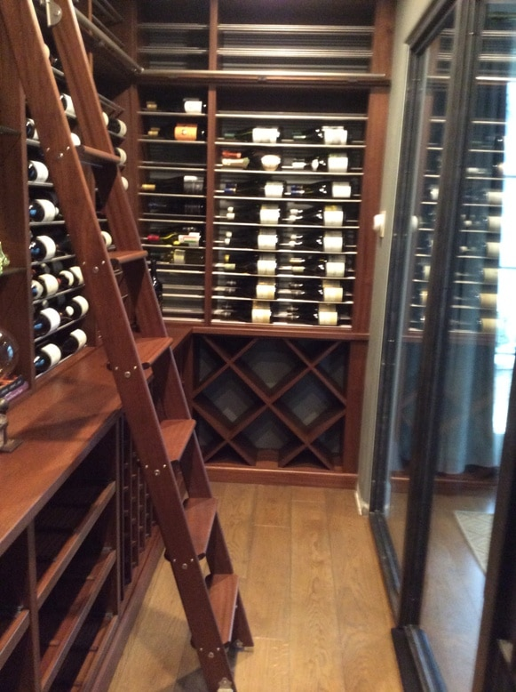 Orange County California Wine Cellar Cooling Project