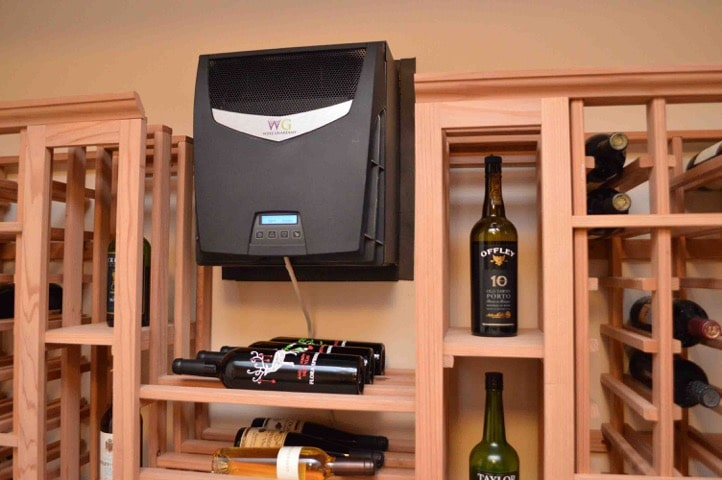 Residential Wine Cellar Cooling System Los Angeles