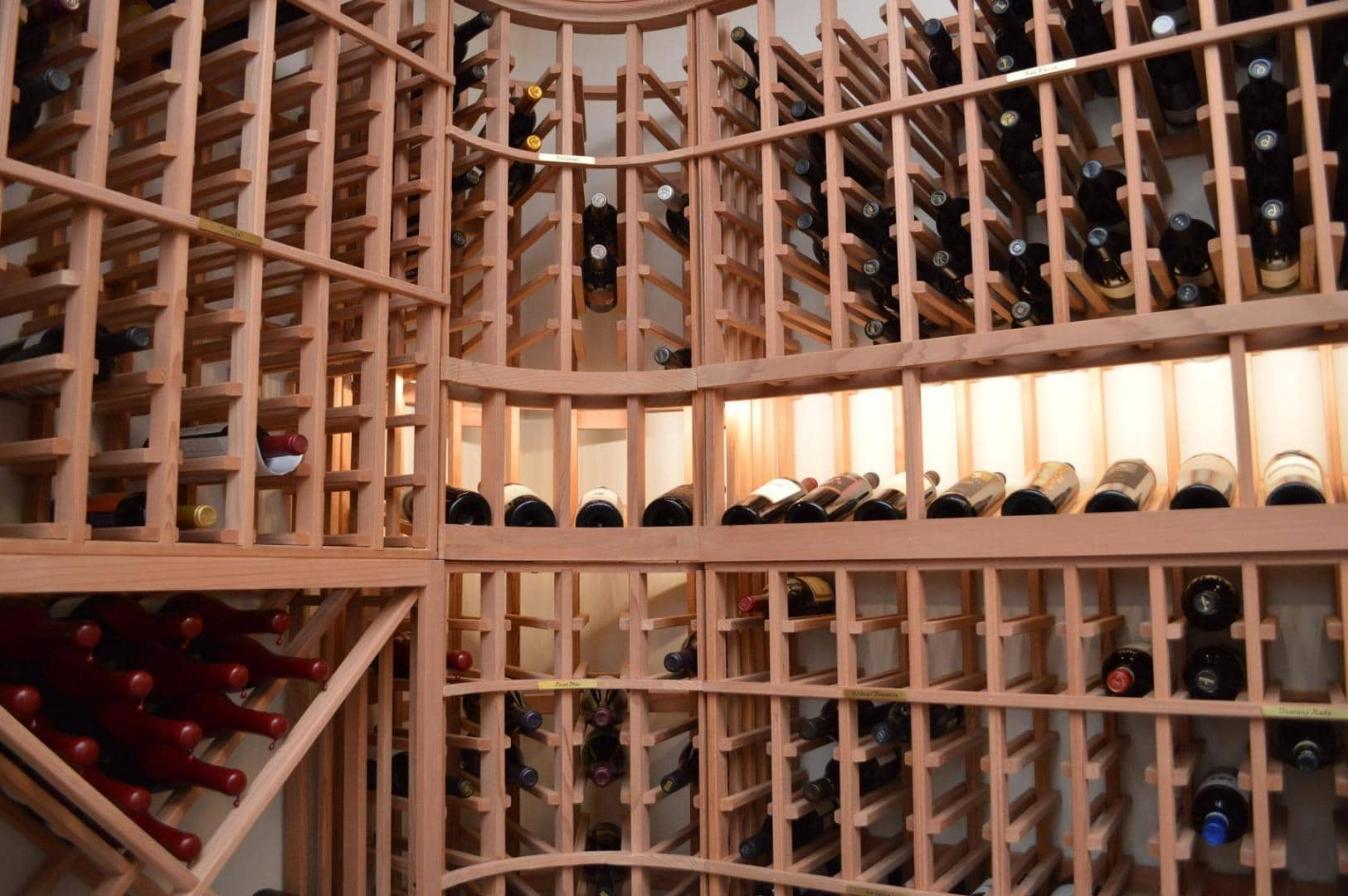 Tripe Deep Custom Wine Racks Los Angeles