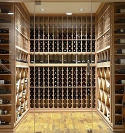Wine Cellar Construction Project for a Home in Los Angeles